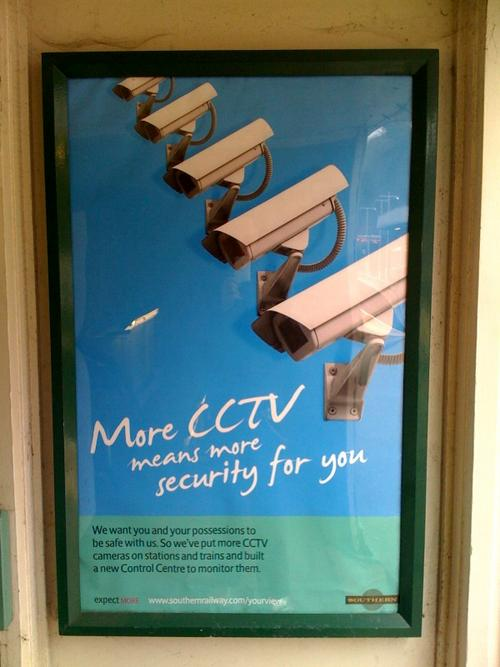 More CCTV means more security for you