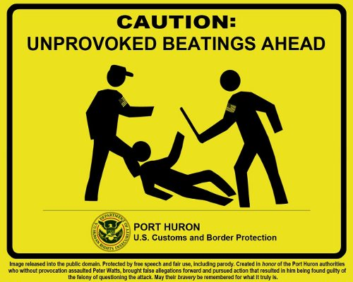 Beatings ahead