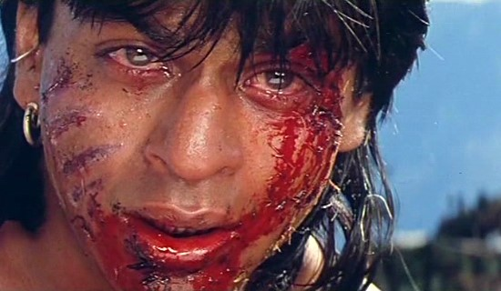 Shahrukh after some violent happenings