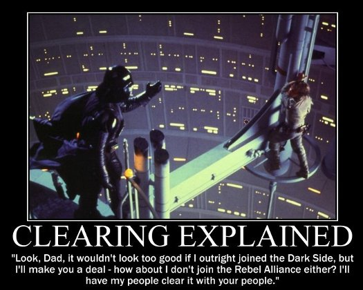 Clearing explained, OneLiners4DK