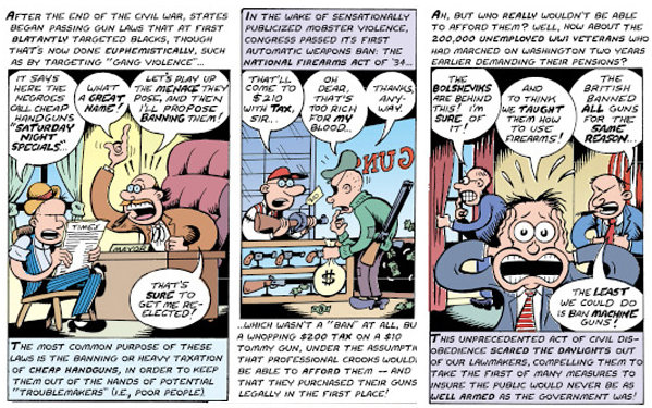 Peter Bagge: The Right to Own a Bazooka